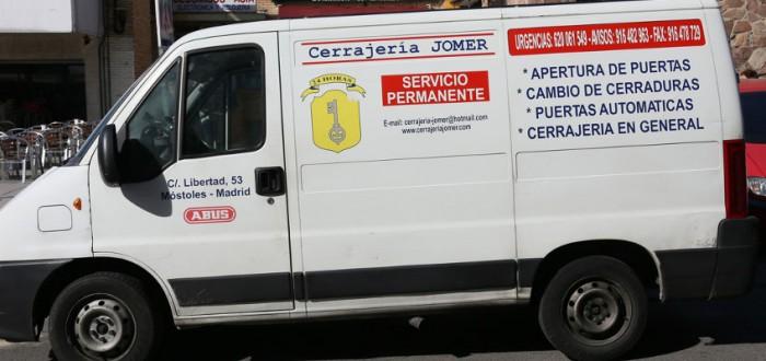 furgoneta-CerrajeríaJomer